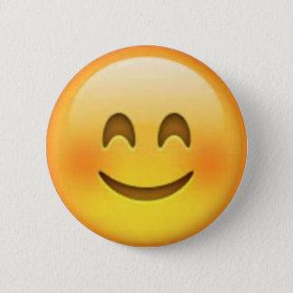 Bóton Redondo 5.08cm Pin feliz de Emoji