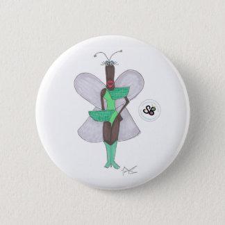 Bóton Redondo 5.08cm Pin futuro verde Pastel da forma da celebridade