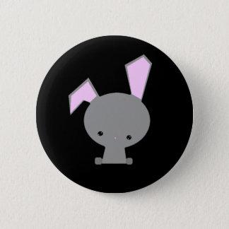 Bóton Redondo 5.08cm Pin Kawaii do botão do coelho bonito