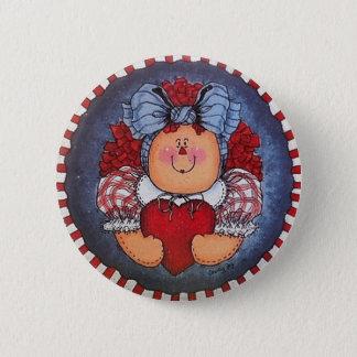 Bóton Redondo 5.08cm Pin Raggedy do botão de Annie