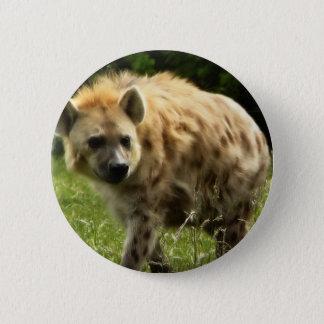 Bóton Redondo 5.08cm Pin redondo da hiena