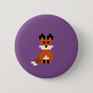 Bóton Redondo 5.08cm Pin retro do Fox