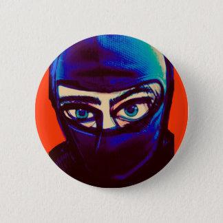 Bóton Redondo 5.08cm Pin Sneaky de Ninja