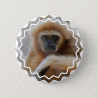 Bóton Redondo 5.08cm Pin triste do Gibbon