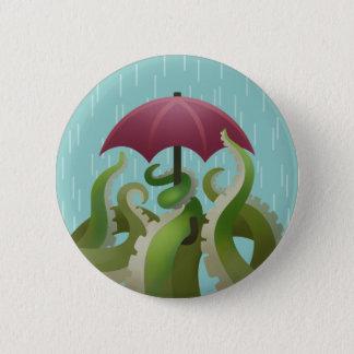 Bóton Redondo 5.08cm Pingos de chuva: Limão