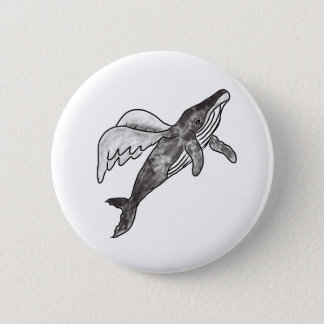 Bóton Redondo 5.08cm Pino da baleia do vôo