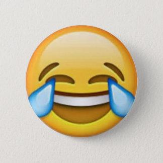 Bóton Redondo 5.08cm Pino de riso do emoji