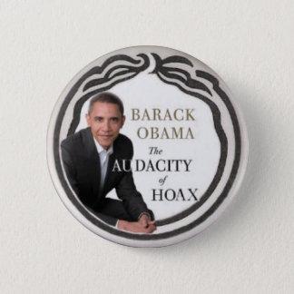 Bóton Redondo 5.08cm Pino do embuste de Anti-Obama