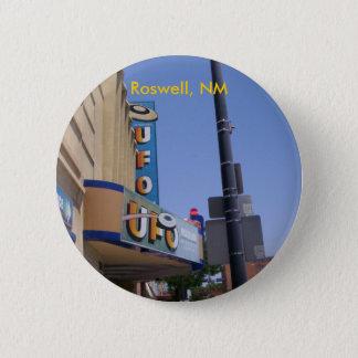 Bóton Redondo 5.08cm Pino do museu do UFO de Roswell