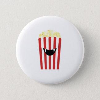 Bóton Redondo 5.08cm Pipoca o Dia das Bruxas de Emoji - presente