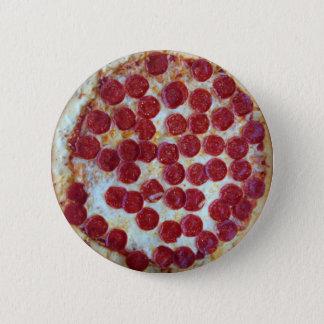 Bóton Redondo 5.08cm Pizza de Pepperoni