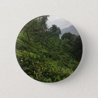 Bóton Redondo 5.08cm Plantação de chá