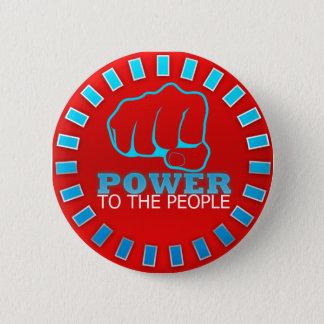 Bóton Redondo 5.08cm Poder às pessoas do botão