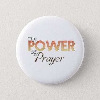 Bóton Redondo 5.08cm Poder da oração