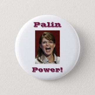 Bóton Redondo 5.08cm Poder de Palin! - botão