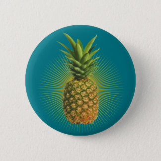 Bóton Redondo 5.08cm Poder do abacaxi