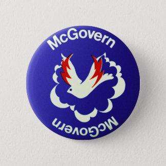 Bóton Redondo 5.08cm Política McGovern do vintage para o presidente