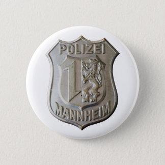 Bóton Redondo 5.08cm Polizei Mannheim