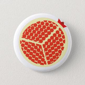 Bóton Redondo 5.08cm pomegrante no interior