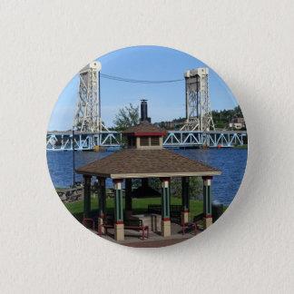 Bóton Redondo 5.08cm Ponte de elevador do lago Portage
