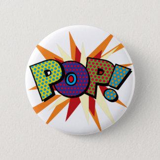 Bóton Redondo 5.08cm POP do pop art da banda desenhada!