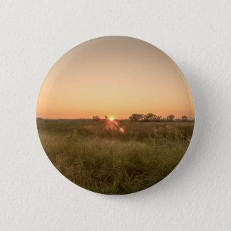 Bóton Redondo 5.08cm Pôr-do-sol