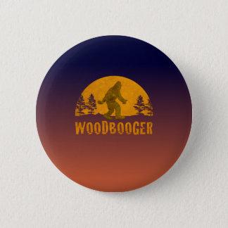 Bóton Redondo 5.08cm Por do sol do vintage de Woodbooger