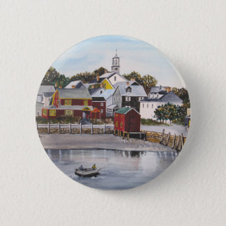 Bóton Redondo 5.08cm Porto de Portsmouth, New Hampshire