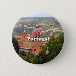 Bóton Redondo 5.08cm Portugal: Palácio de Monserrate, perto de Sintra