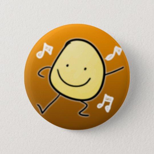 Bóton Redondo 5.08cm Potato Dance Button