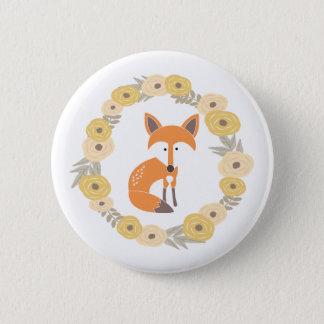 Bóton Redondo 5.08cm Pouco botão do Fox