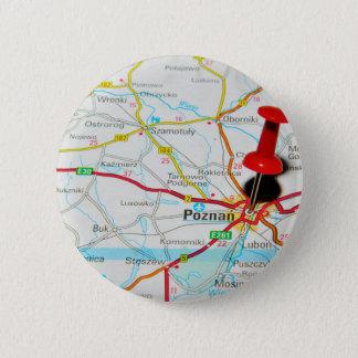 Bóton Redondo 5.08cm Poznan, Polônia