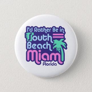 Bóton Redondo 5.08cm Praia sul Miami