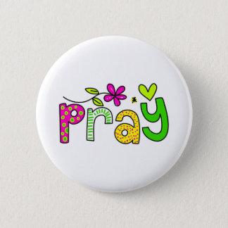 Bóton Redondo 5.08cm Pray