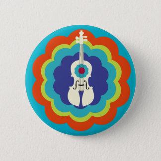 Bóton Redondo 5.08cm Presente-Botão do violino
