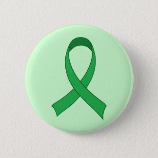 Bóton Redondo 5.08cm Presente verde personalizado da consciência da