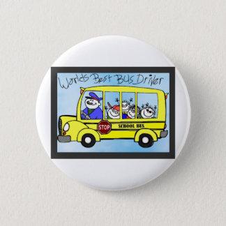 Bóton Redondo 5.08cm Presentes da apreciação do condutor de autocarro