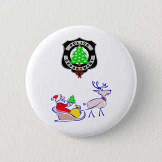 Bóton Redondo 5.08cm Presentes da polícia do Natal