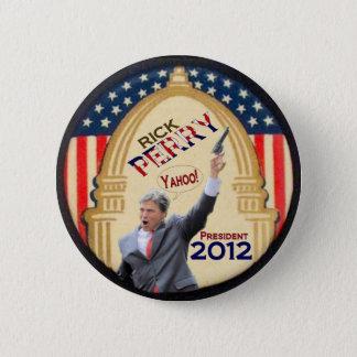 Bóton Redondo 5.08cm Presidente 2012 de Rick Perry