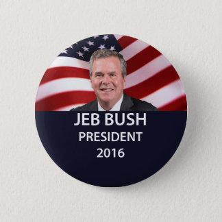 Bóton Redondo 5.08cm Presidente 2016 botão de Jeb Bush