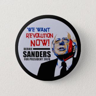 Bóton Redondo 5.08cm Presidente 2020 das máquinas de lixar de Bernie