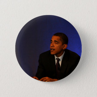 Bóton Redondo 5.08cm Presidente Barack Obama