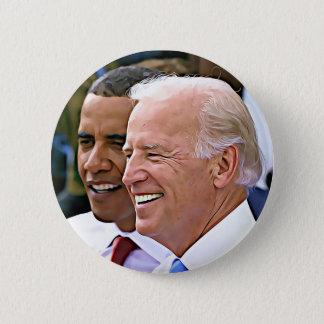 Bóton Redondo 5.08cm Presidente Obama & vice-presidente Biden Botão