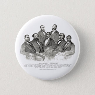 Bóton Redondo 5.08cm Primeiros senador e representantes coloridos