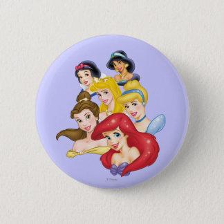Bóton Redondo 5.08cm Princesas Retrato da princesa | de Disney