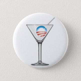 Bóton Redondo 5.08cm Pro-Obama Martini