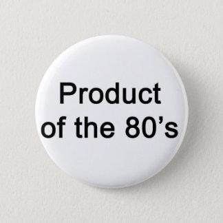 Bóton Redondo 5.08cm Produto do anos 80