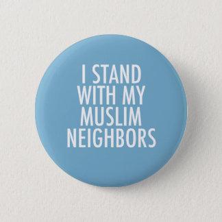 Bóton Redondo 5.08cm Proibição da imigração do aliado muçulmano anti