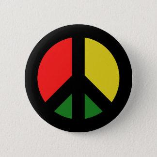 Bóton Redondo 5.08cm Proibição de Rasta o símbolo de paz da bomba CND