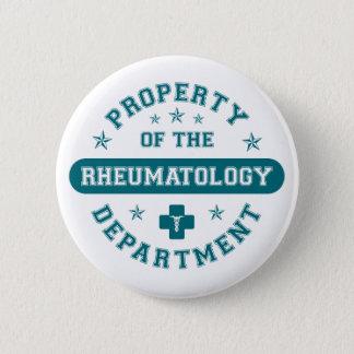 Bóton Redondo 5.08cm Propriedade do departamento da reumatologia